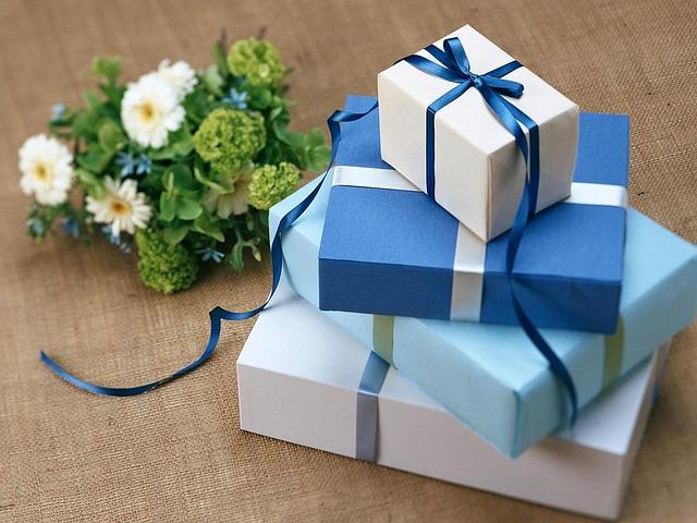 Les cadeaux d'entreprise