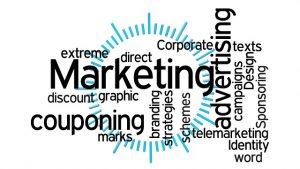 services de publicité et marketing