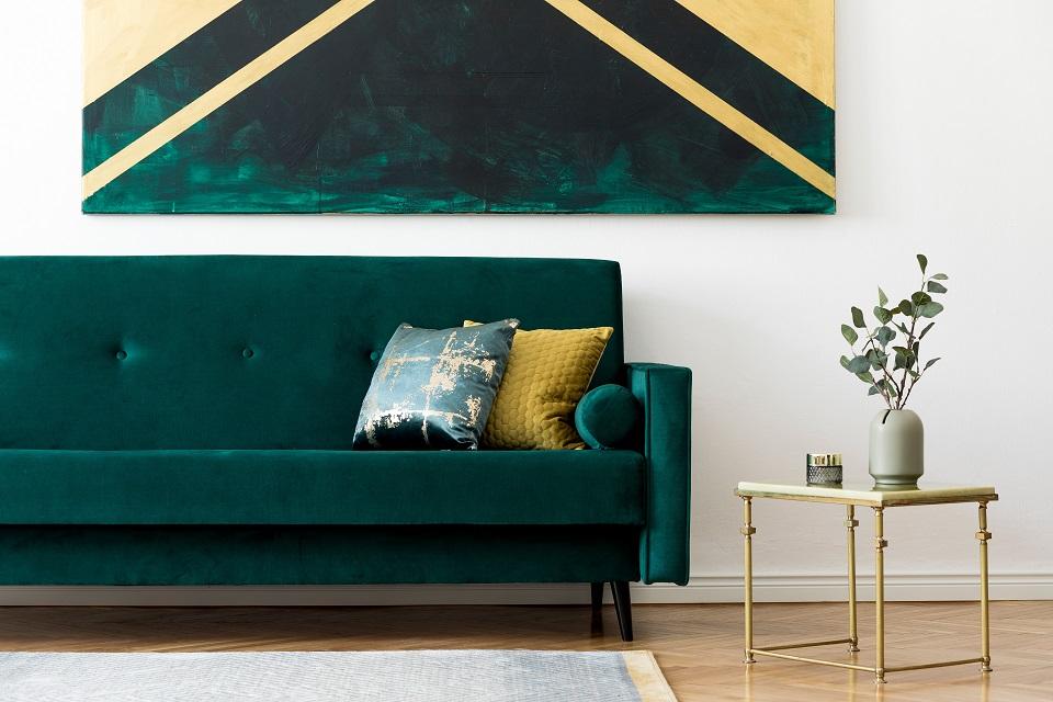 Comment entretenir un canapé en velours ?