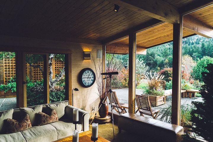 Les verrières agrémentent les maisons contemporaines en modernes